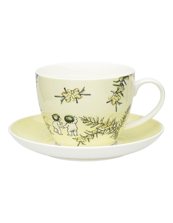 May Gibbs Wattle Cup & Saucer 430ml - Gift Boxed image 1