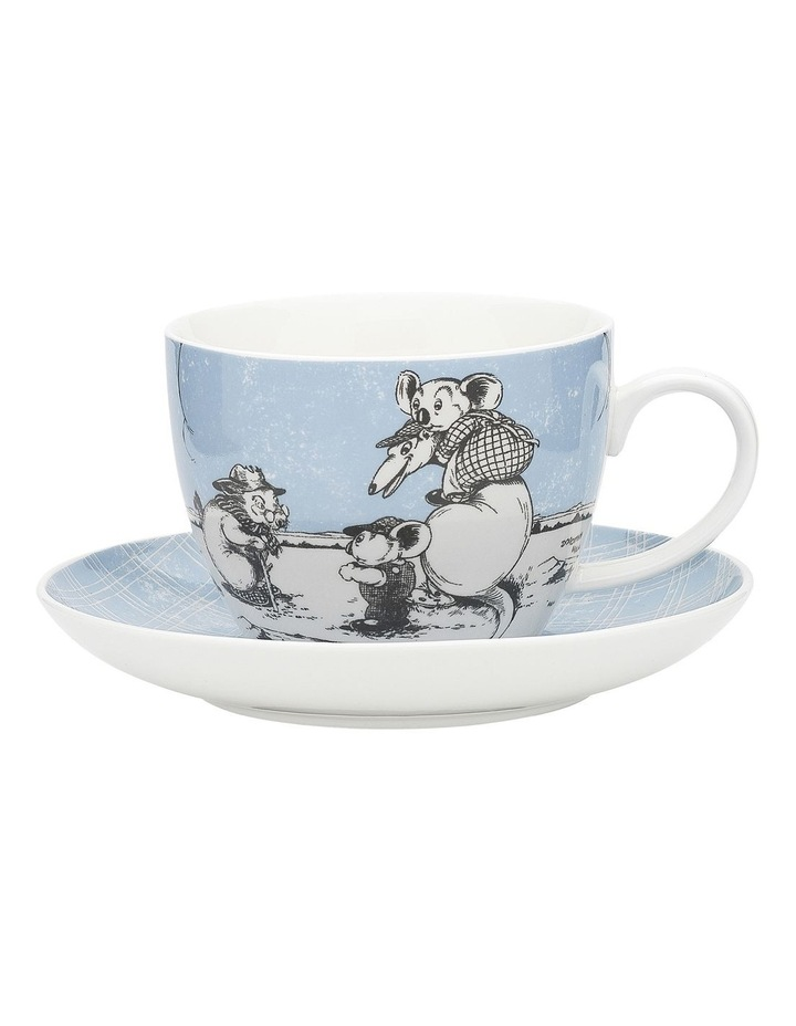 Blinky Bill Cup & Saucer 430ml Blue image 1