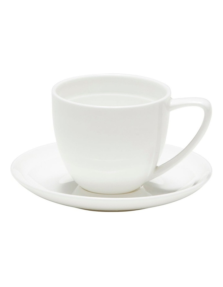 EDGE Espresso Cup and Saucer - 100ml - Set of 6 image 2
