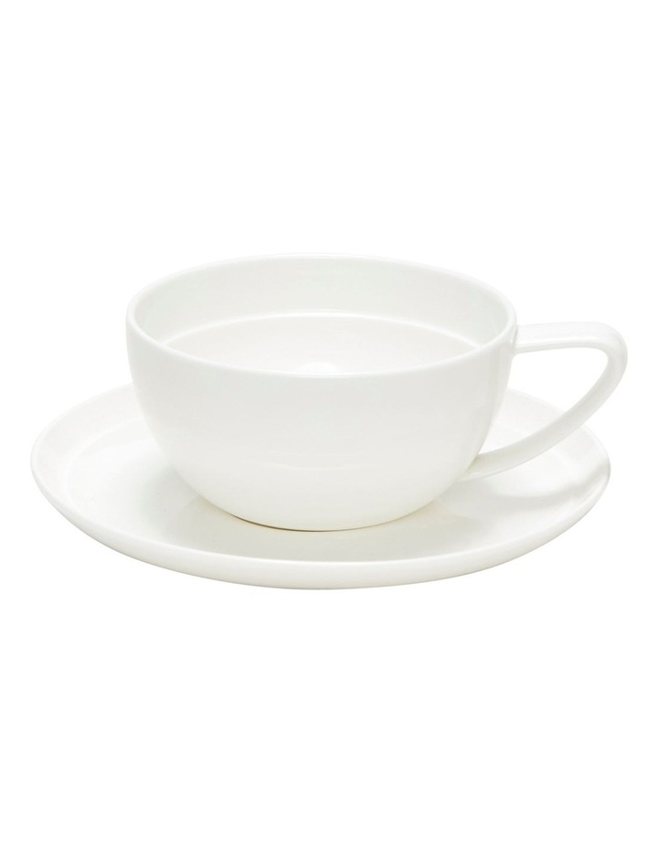 EDGE Tea Cup and Saucer - 280ml - Set of 6 image 2