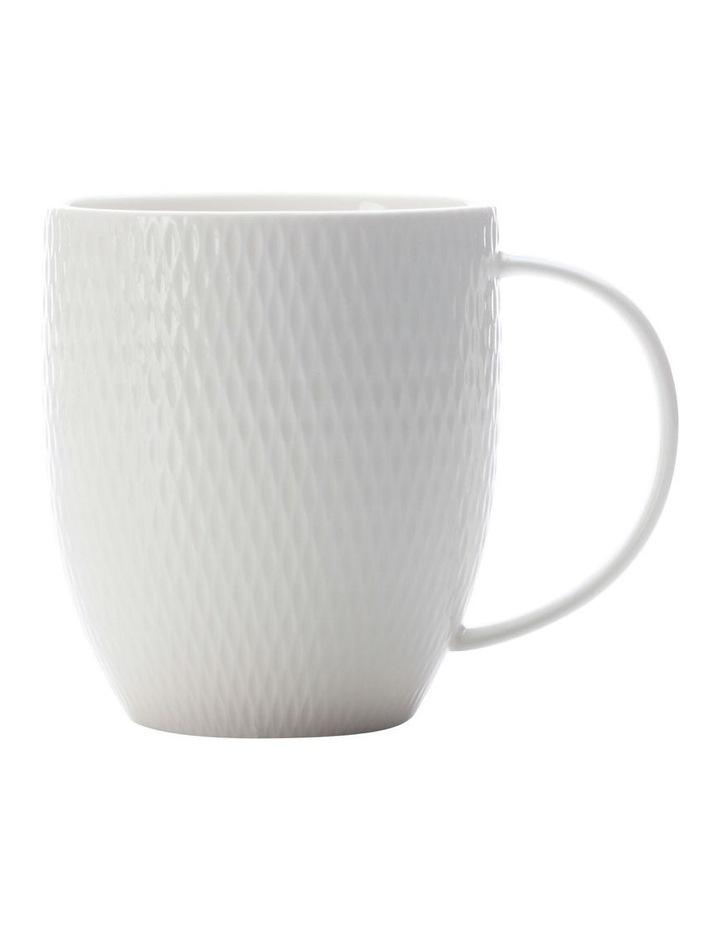 White Basics Diamonds Coupe Mug 350ML image 1