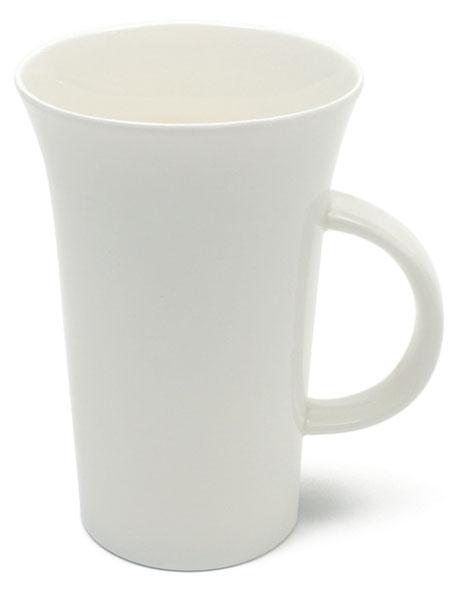 White Basics Large Flared Mug  500ml image 1