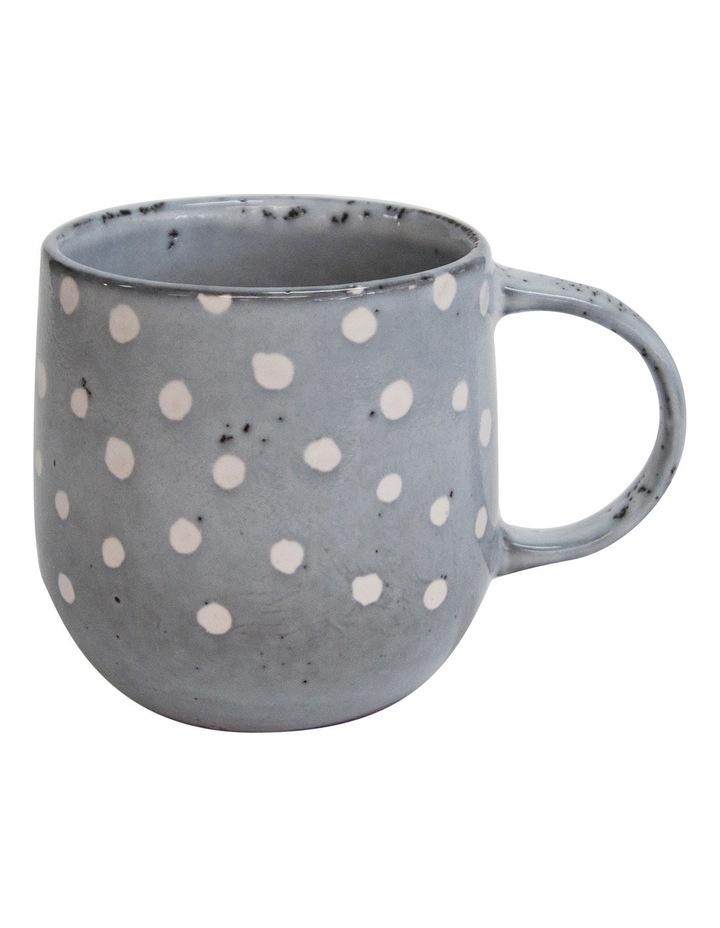 Naoko Mug 380ml - Polka Grey image 1