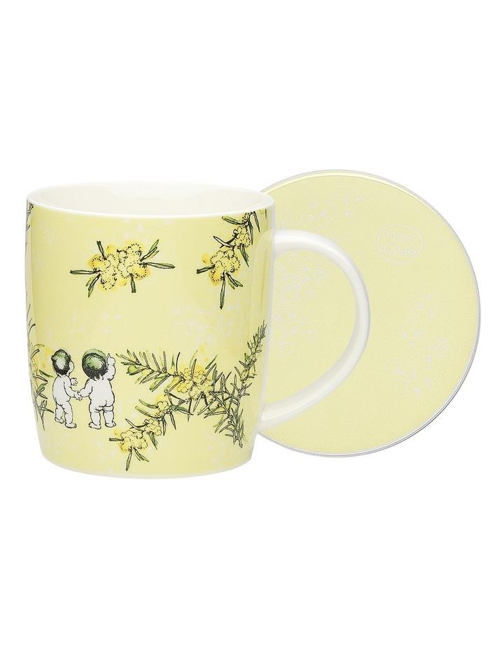 May Gibbs Wattle Mug & Coaster 320ml image 1