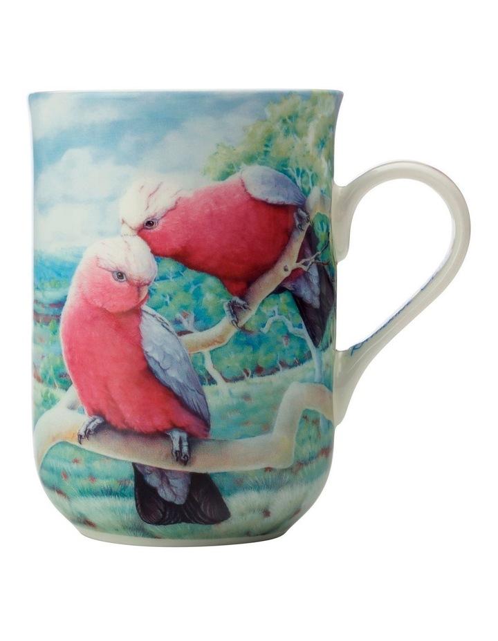 Birds of Australia KC 10yr Anniversary Mug 300ML Galah Gift Boxed image 1