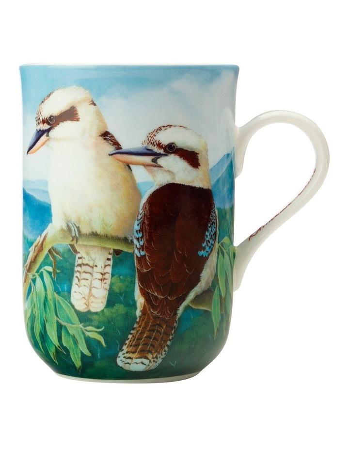 Birds of Australia KC 10yr Anniversary Mug 300ML Kookaburra Gift Boxed image 1