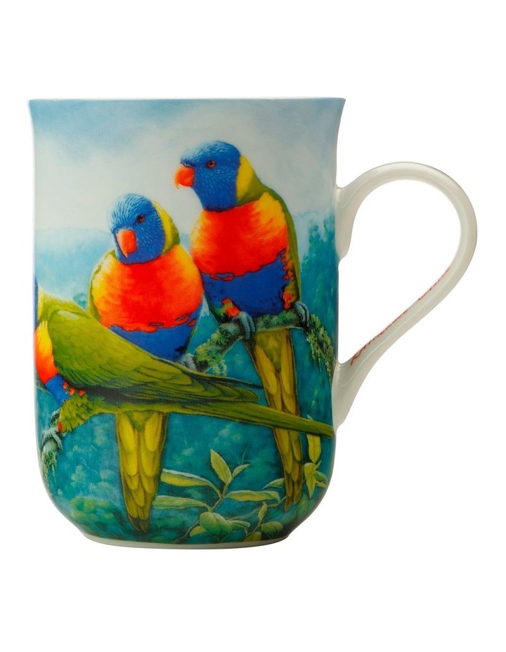 Birds of Australia KC 10yr Anniversary Mug 300ML Lorikeet Gift Boxed image 1