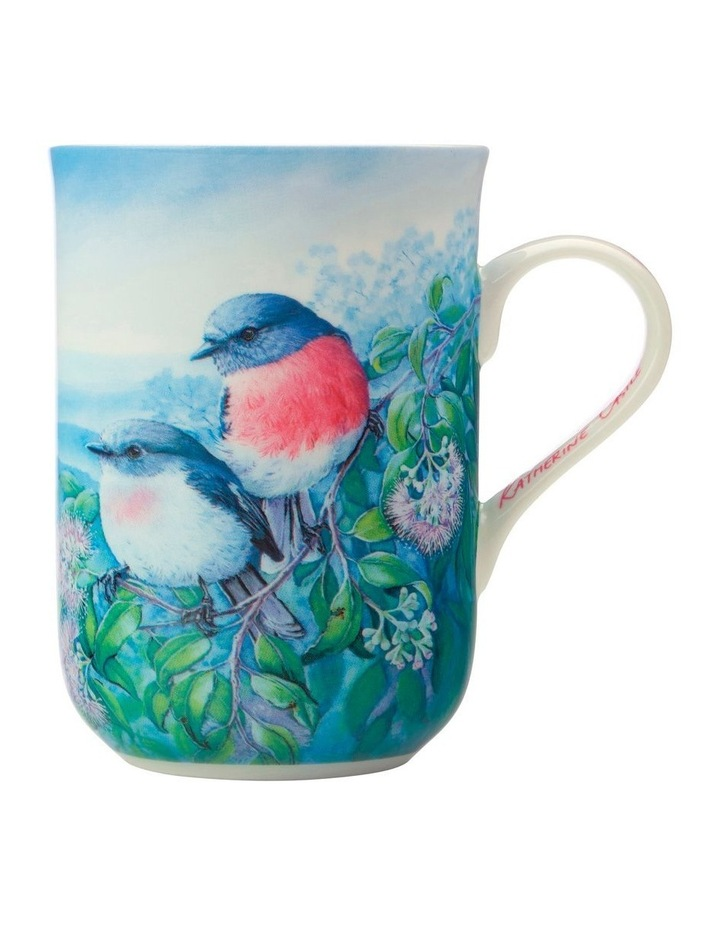 Birds of Australia KC 10yr Anniversary Mug 300ML Rose Robin Gift Boxed image 1