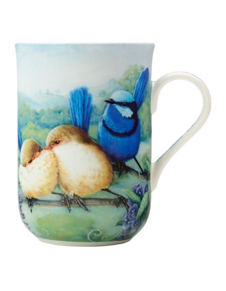 Birds of Australia KC 10yr Anniversary Mug 300ML Splendid Fairy Wren Gift Boxed image 1