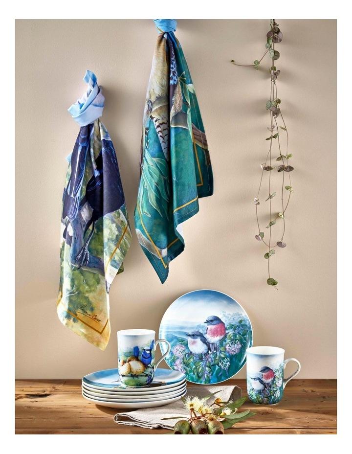 Birds of Australia KC 10yr Anniversary Mug 300ML Splendid Fairy Wren Gift Boxed image 2