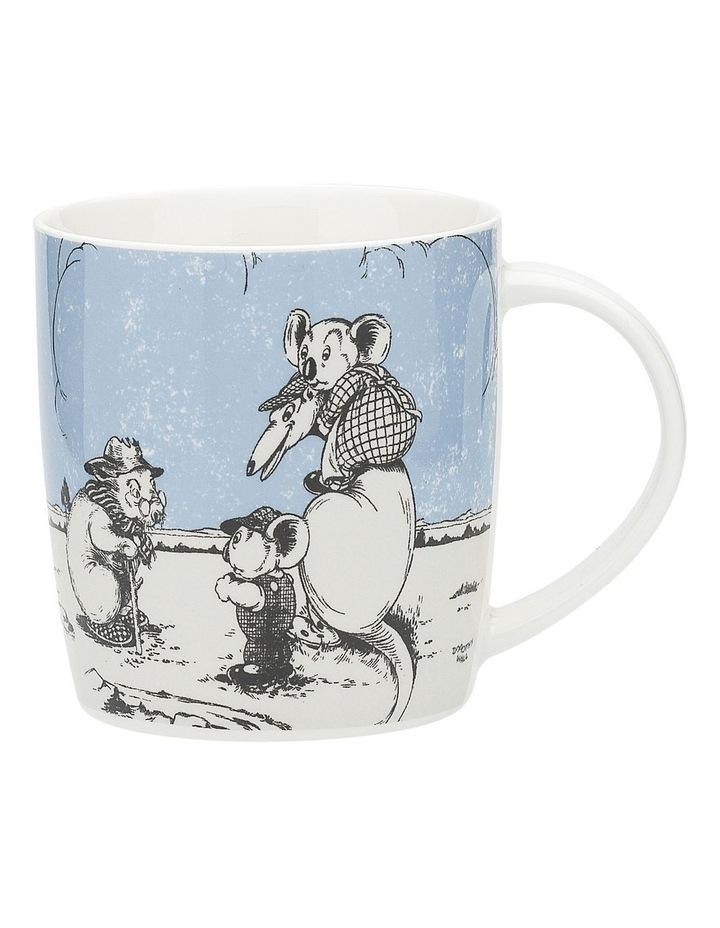 Blinky Bill Mug & Coaster 320ml Blue image 2