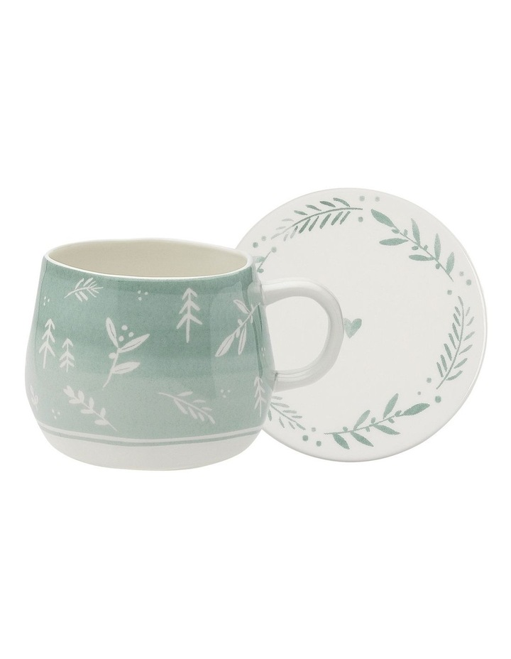 Retreat Aloe Mug & Coaster 300ml image 1
