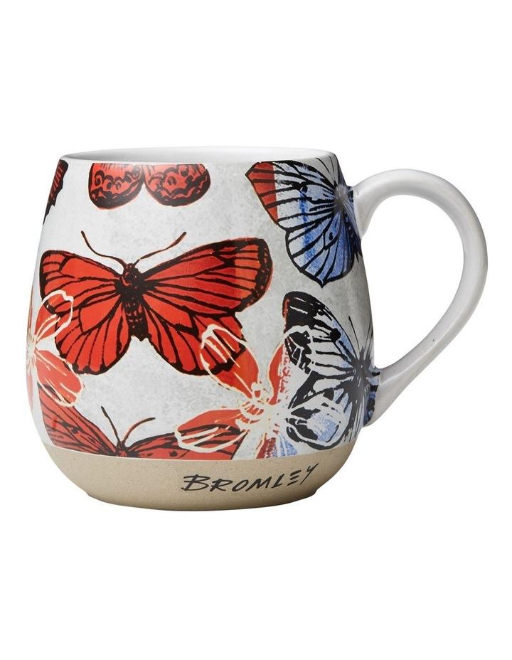 Bromley X-Large Hug Me Mug - Big Red Butterflies image 1
