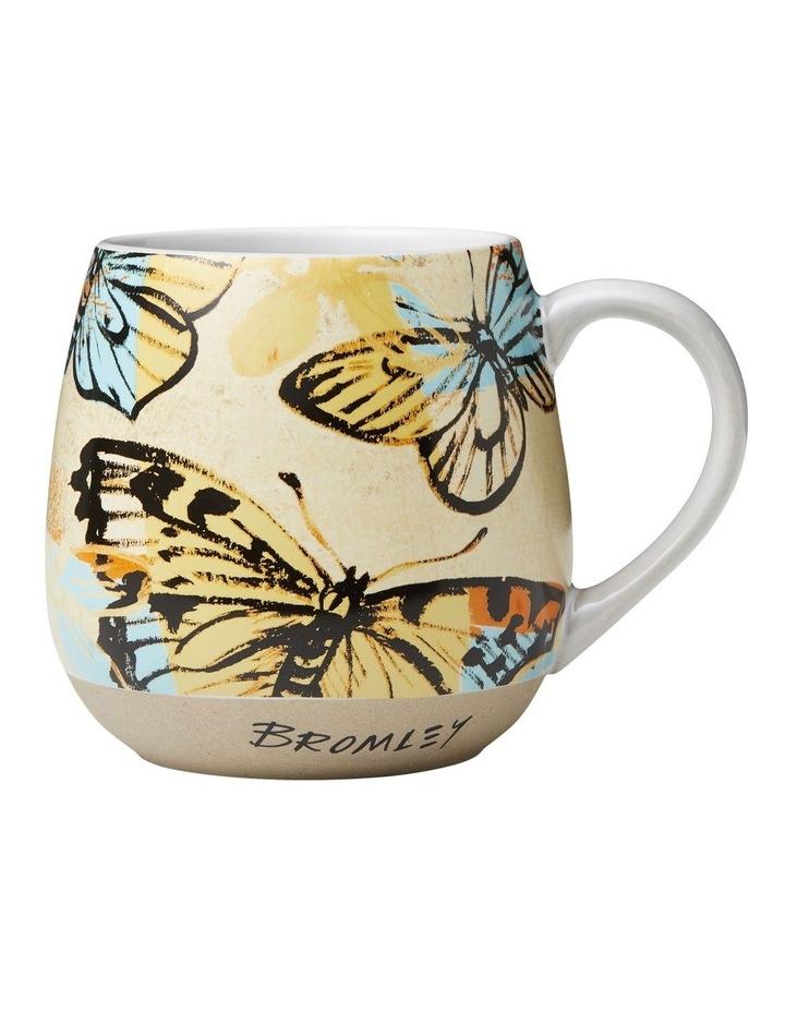 Bromley X-Large Hug Me Mug 550ml - Yellow Butterflies image 1