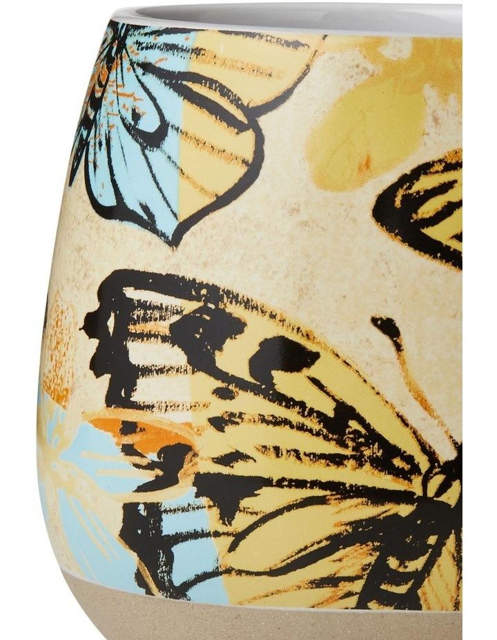 Bromley X-Large Hug Me Mug 550ml - Yellow Butterflies image 2