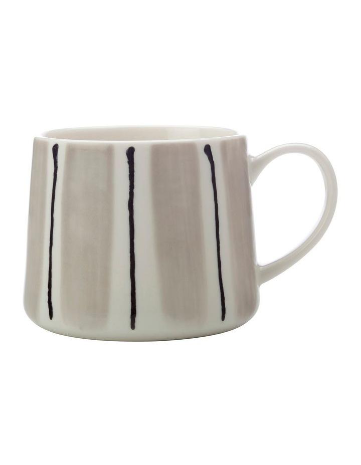 Fine Line Mug 330ML Grey image 1