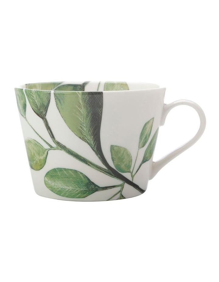 Winter Bloom Mug 450ML Olive image 1