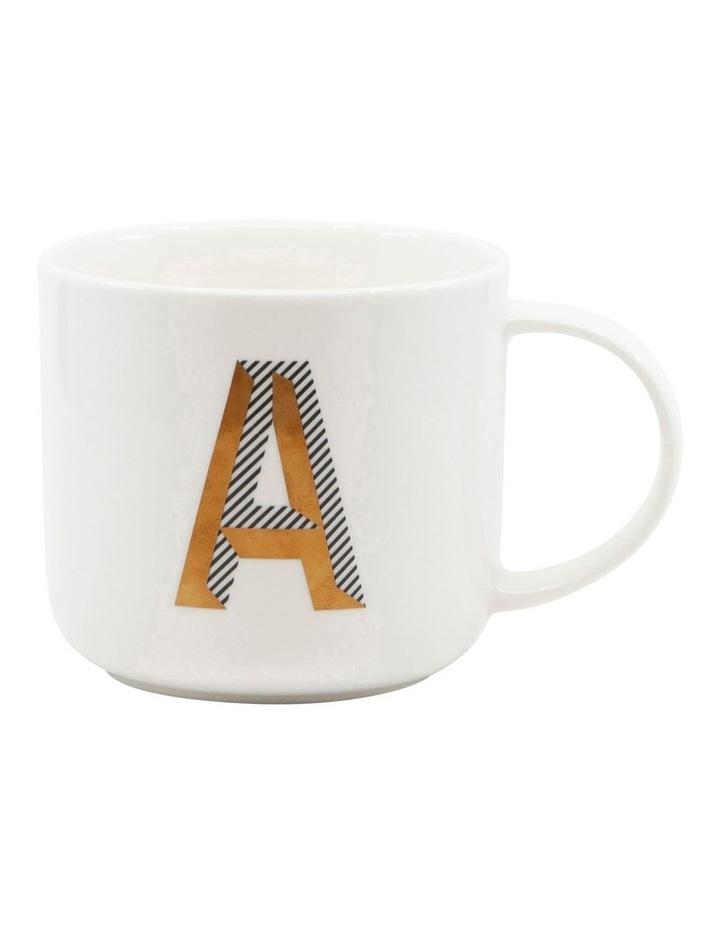 Alpha Mug 400ml - Letter A image 1