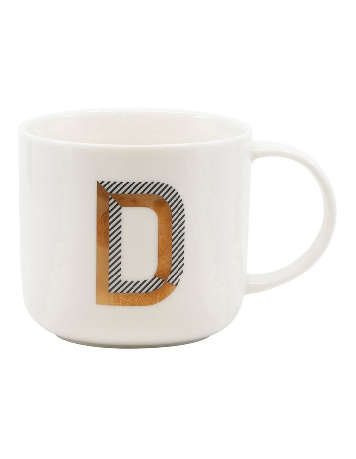 Alpha Mug 400ml - Letter D image 1