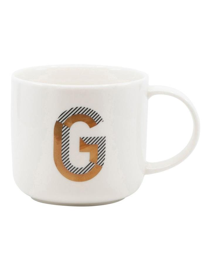 Alpha Mug 400ml - Letter G image 1