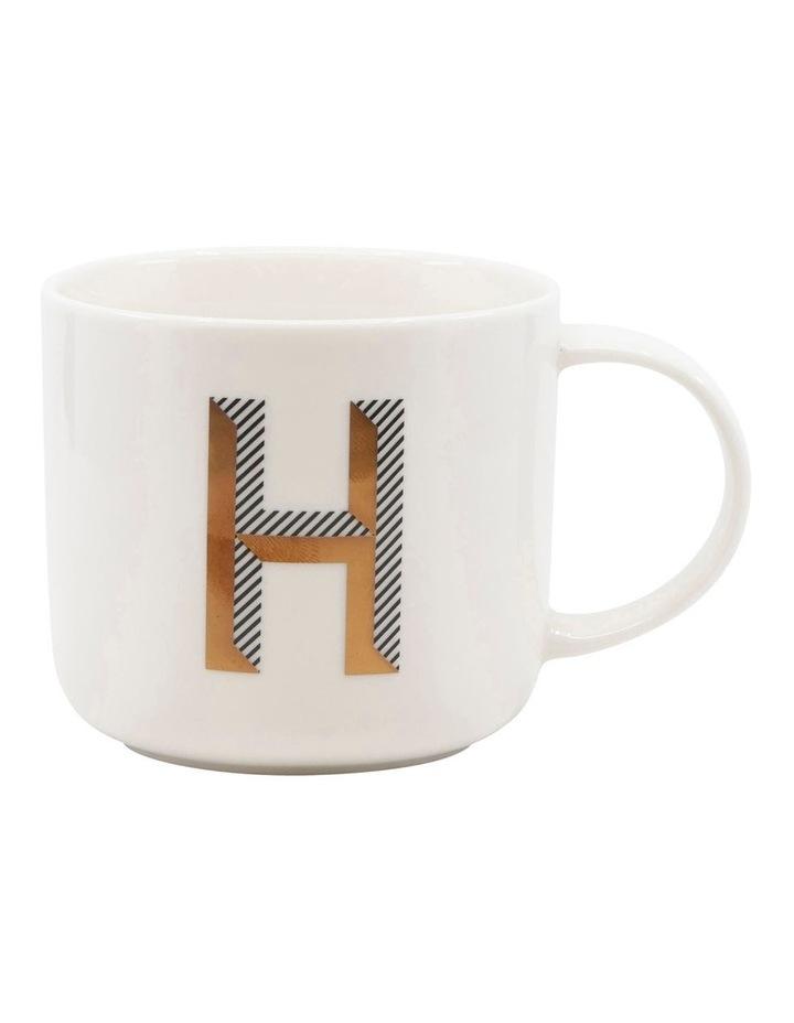 Alpha Mug 400ml - Letter H image 1