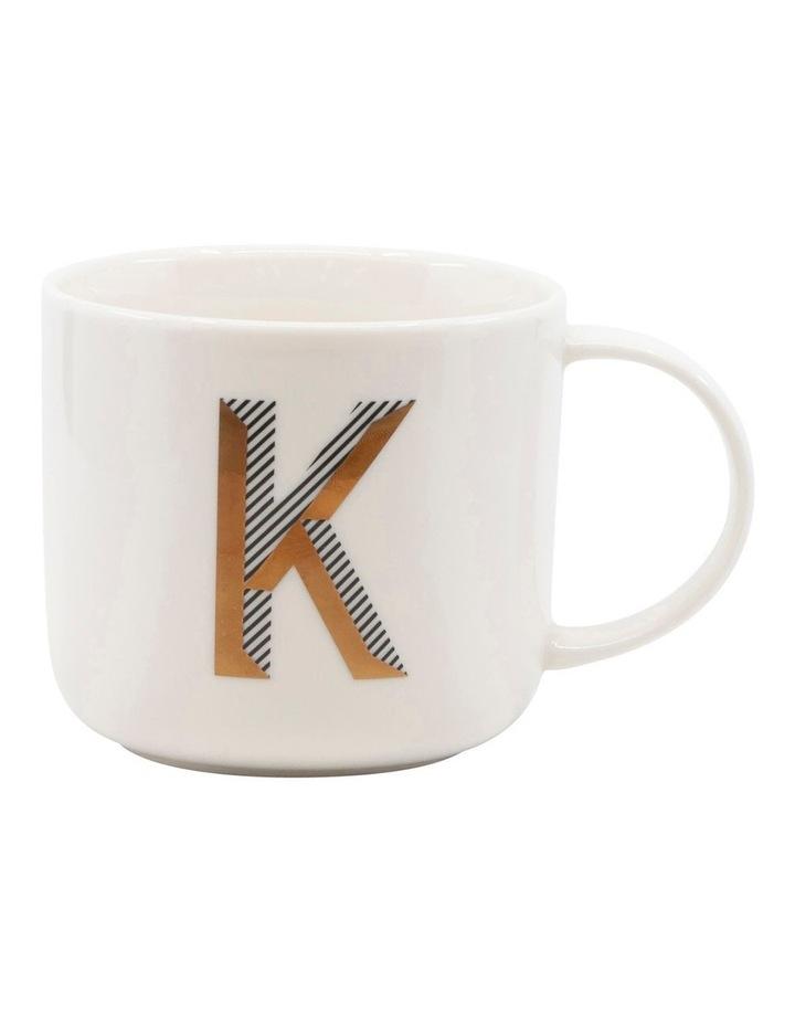 Alpha Mug 400ml - Letter K image 1