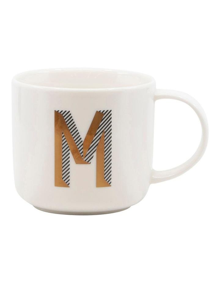 Alpha Mug 400ml - Letter M image 1