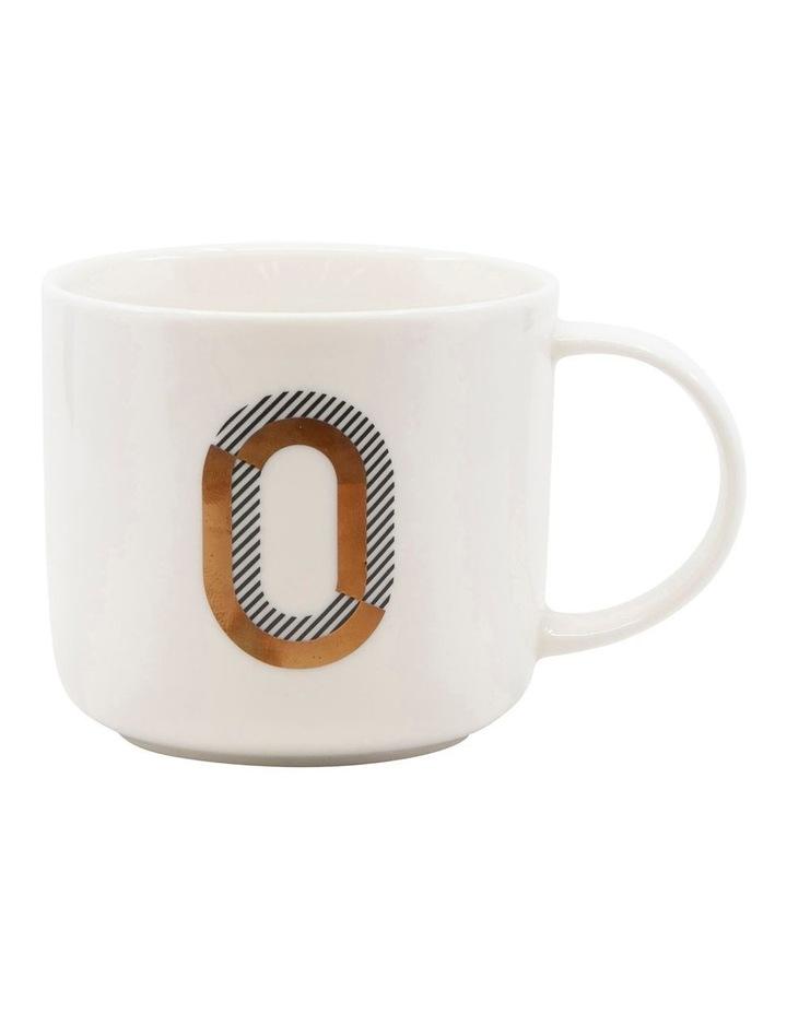 Alpha Mug 400ml - Letter O image 1