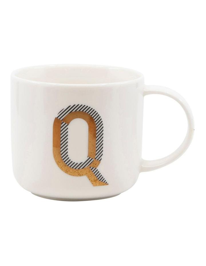Alpha Mug 400ml - Letter Q image 1