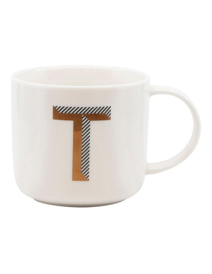 Alpha Mug 400ml - Letter T image 1