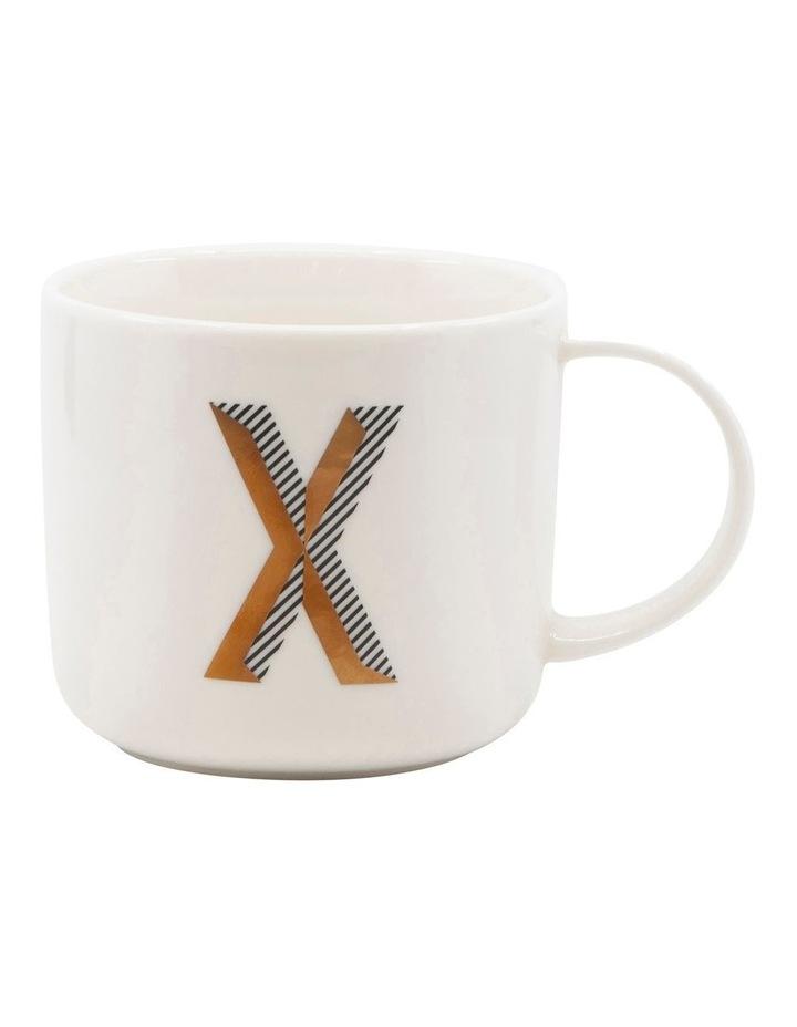 Alpha Mug 400ml - Letter X image 1