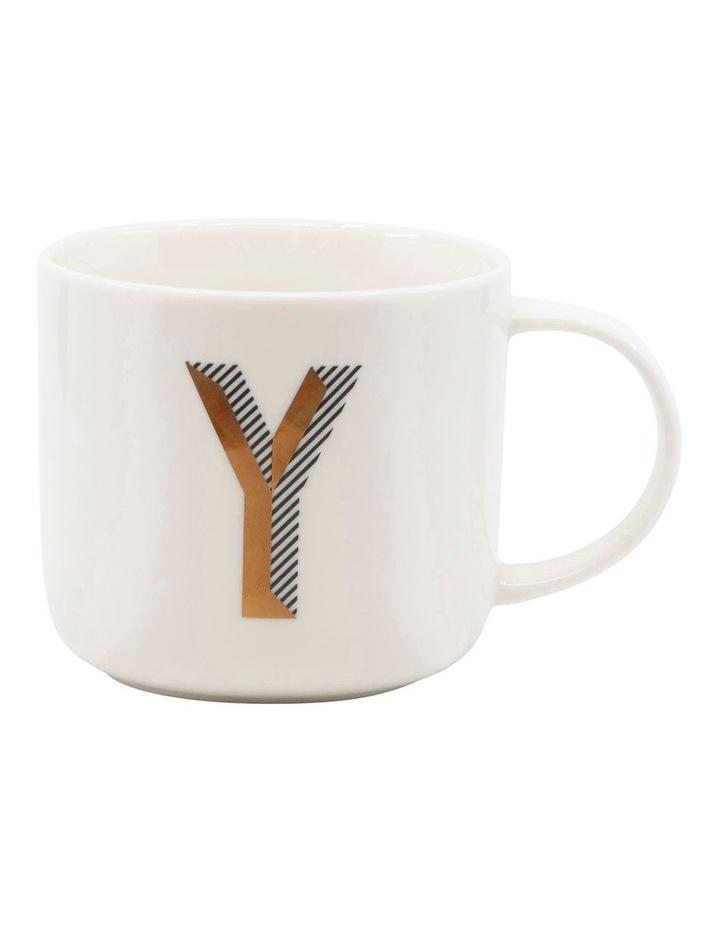 Alpha Mug 400ml - Letter Y image 1