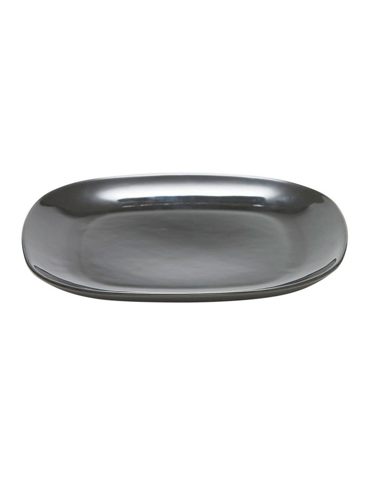 Shades Dinner Plate 26cm - Charcoal image 1