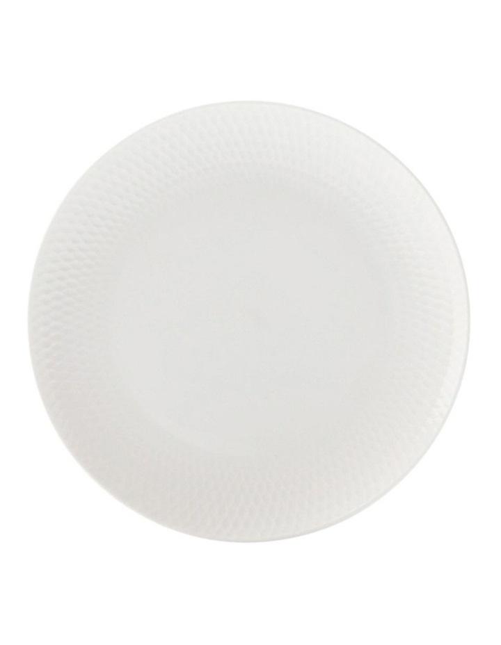 White Basics Diamonds Side Plate 18cm image 1