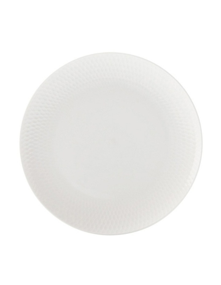 White Basics Diamonds Side Plate  18cm image 1