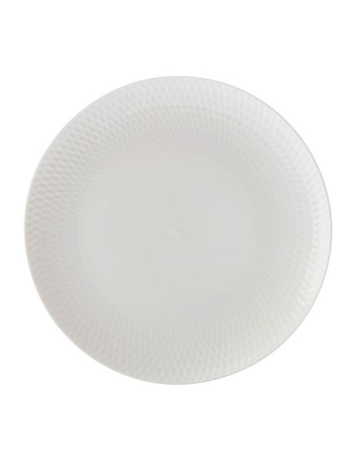White Basics Diamonds Entree Plate 23cm image 1