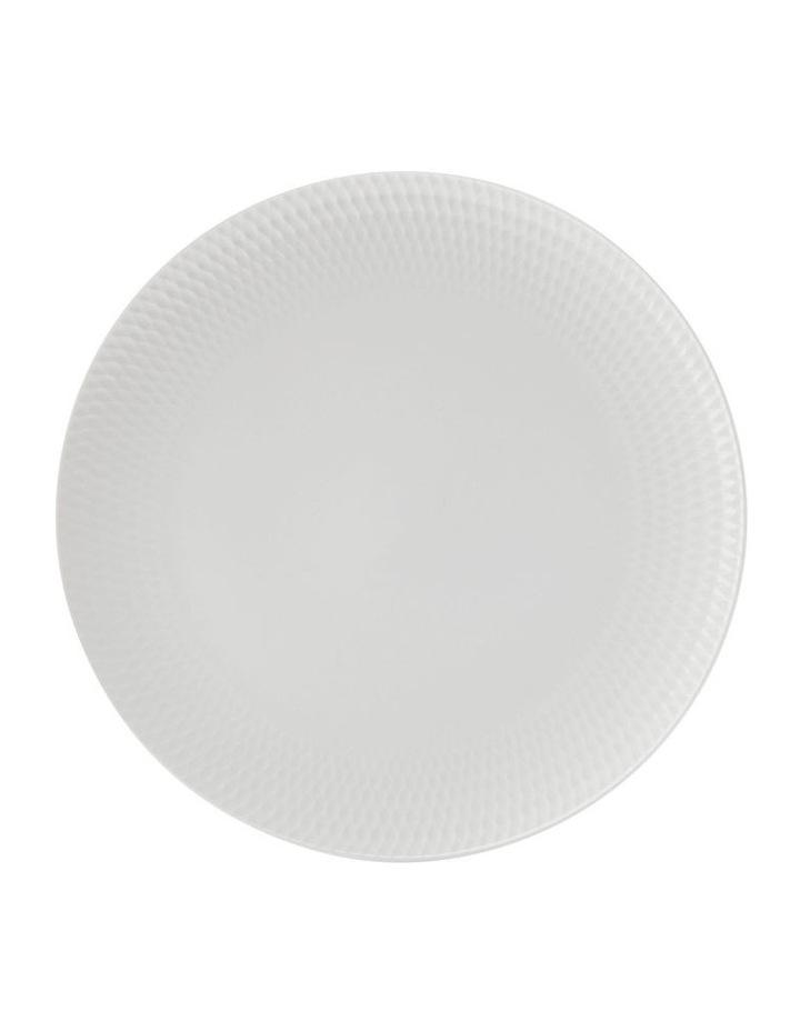White Basics Diamonds Dinner Plate 27cm image 1