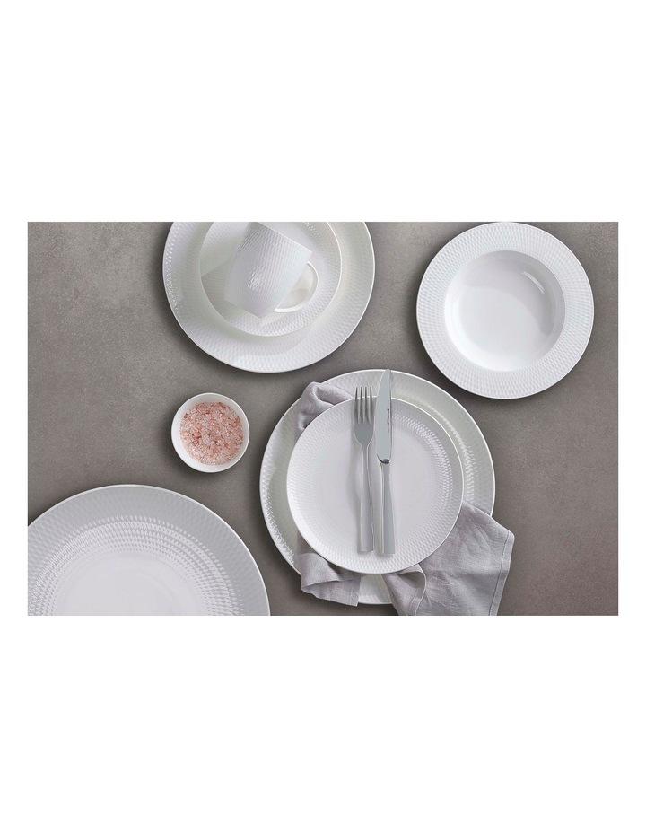 White Basics Diamonds Dinner Plate 27cm image 2