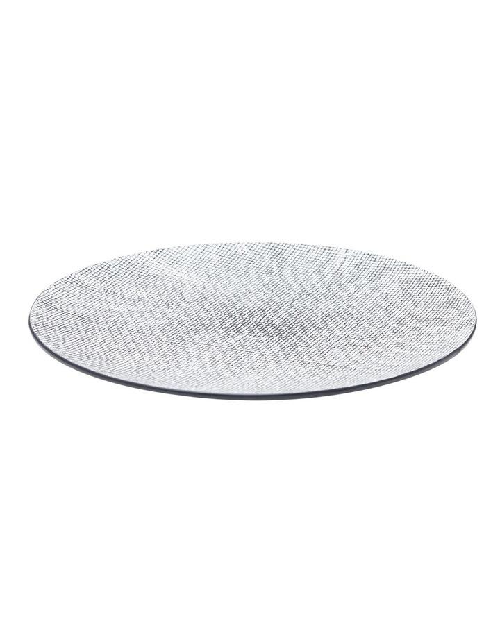 Raww Dinner Plate - Black image 1