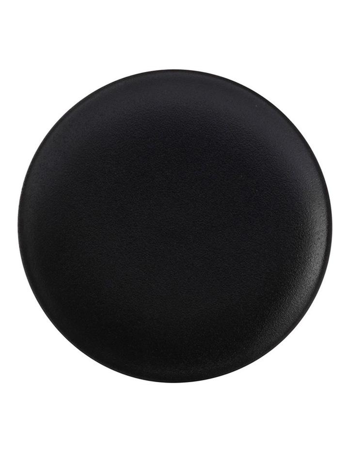 Caviar Coupe Plate 15cm Black image 1
