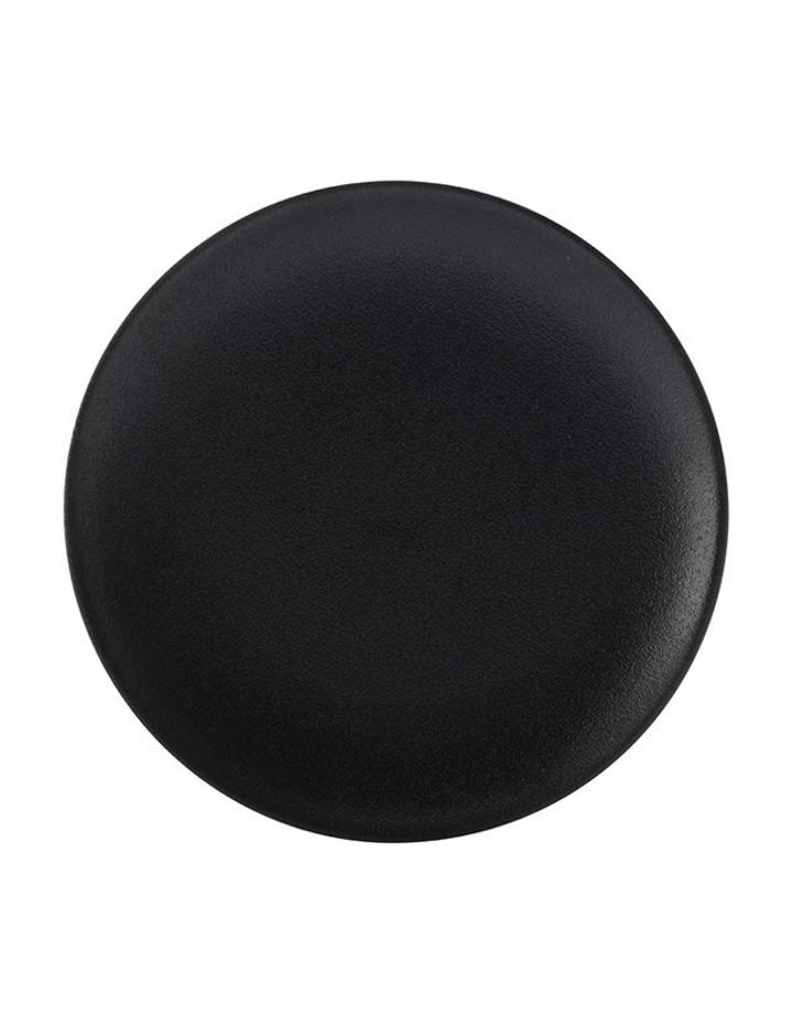 Caviar Coupe Plate  27.5cm - Black image 1