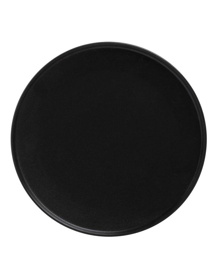 Caviar High Rim Plate 21cm Black image 1