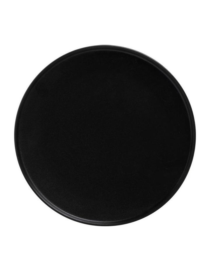 Caviar High Rim Plate 26.5cm Black image 1
