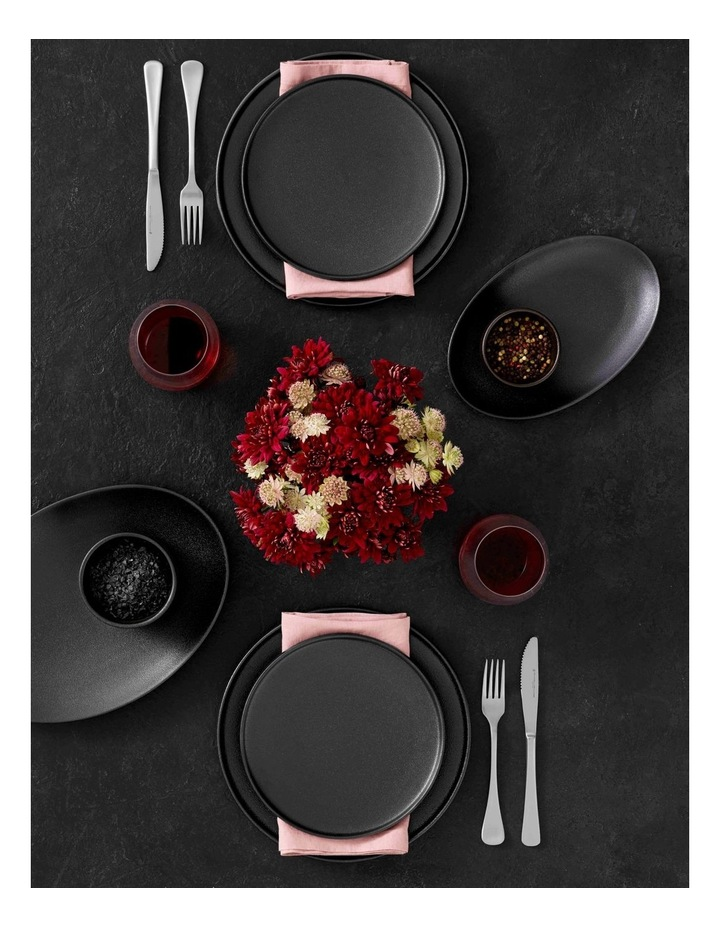 Caviar High Rim Plate 26.5cm Black image 2