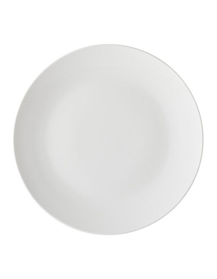 White Basics Coupe Side Plate 19cm image 1
