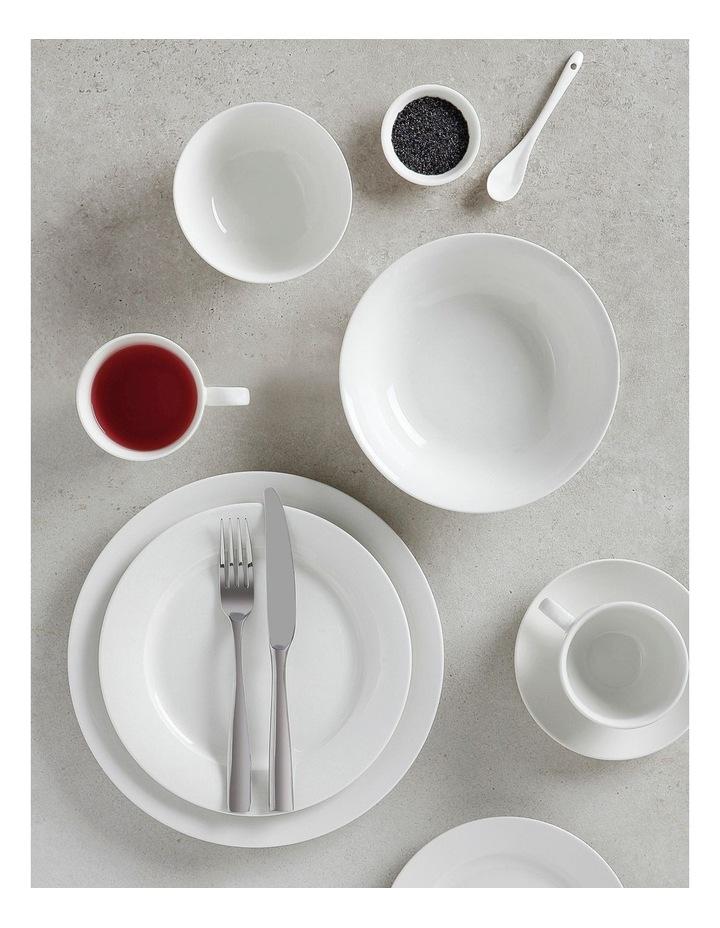 White Basics Rim Dinner Plate 27.5cm image 2