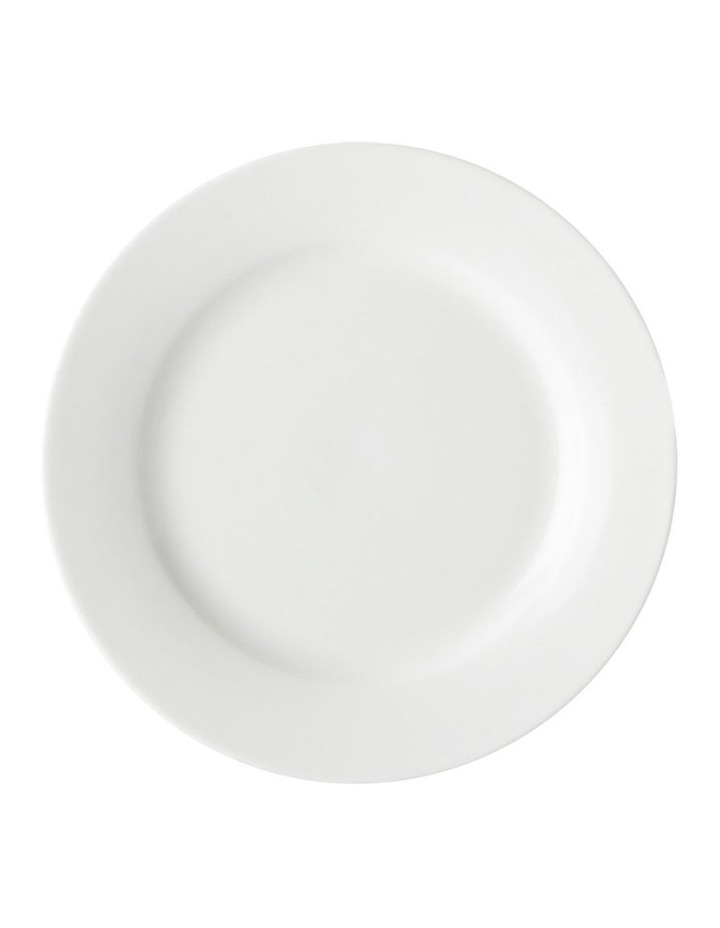 White Basics Rim Side Plate 19cm image 1