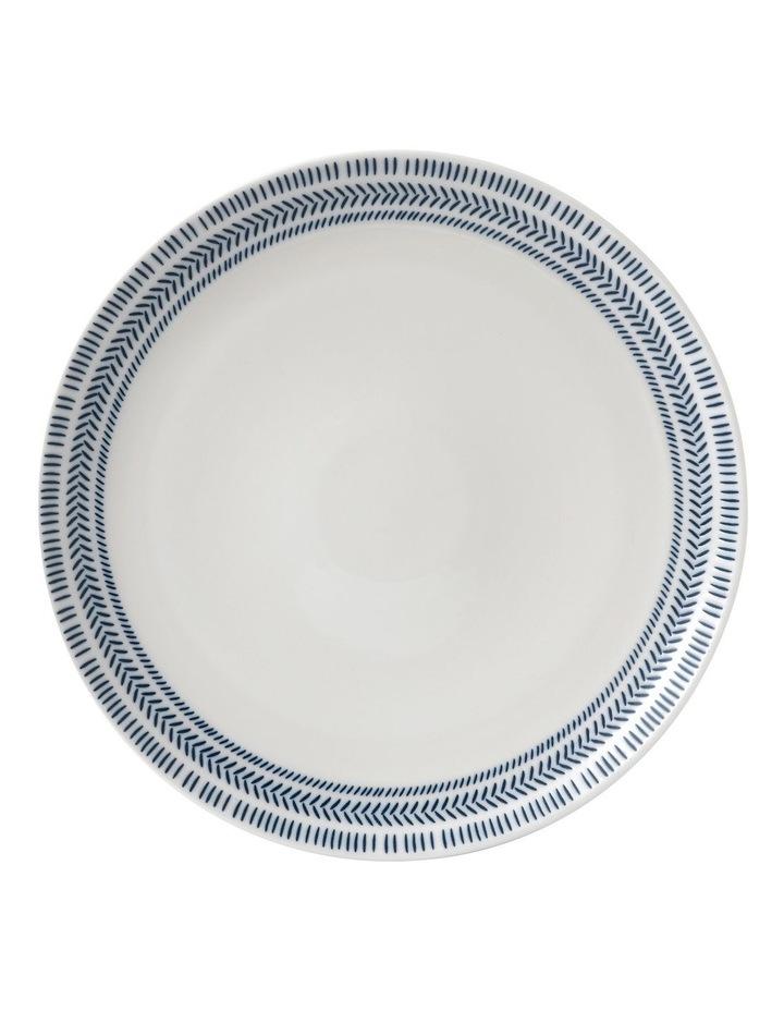 Chevron Dinner Plate 28cm image 1