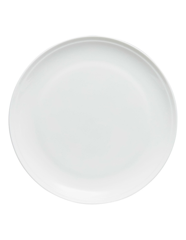 Edge Dinner Plate  27cm - White image 1