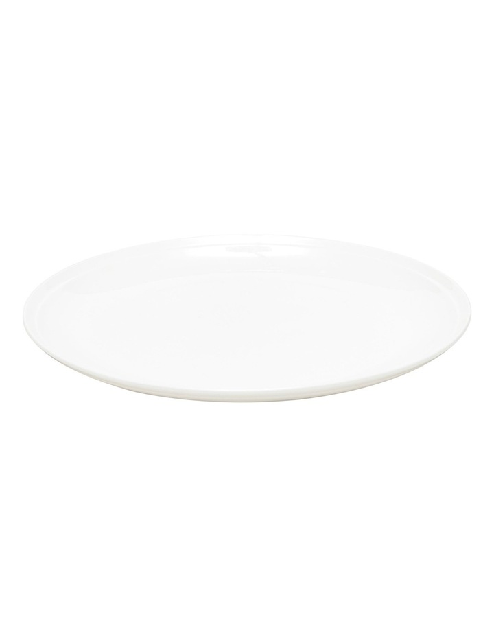 Edge Dinner Plate  27cm - White image 2